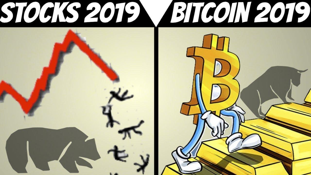 Bitcoin And Stock Market Prediction For 2019 2018 Recap Performance