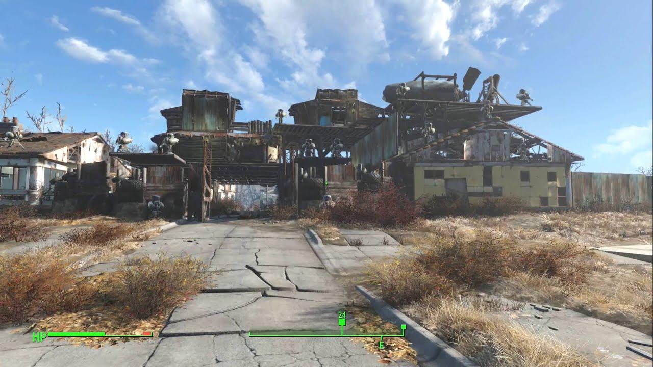 Cool Sanctuary Builds Fallout