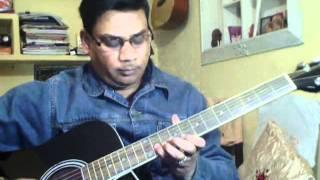 Ye ladka hai allah on Guitar