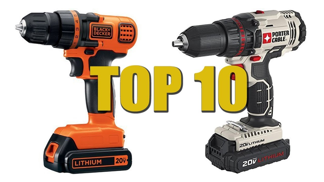Best Impact Driver 2020.Top 10 Best Cordless Drill 2020