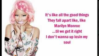 Nicki Minaj - Marilyn Monroe (Lyrics On Screen)