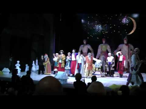 """Прощание_Театр имени Гоголя """"Ночь перед Рождеством"""""""