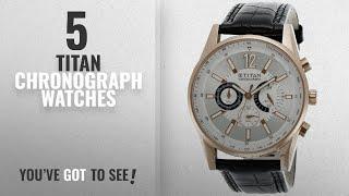 Top 10 Titan Chronograph Watches [2018]: Titan Octane Chronograph Multi-Color Dial Men's Watch -