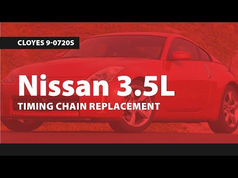 Nissan 35L Timing Replacment (350ZAltimaMaximaMurano