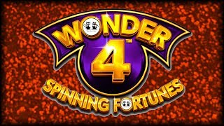 Wonder 4 Spinning Fortunes 🦜 The Slot Cats 🎰😸😺🌮