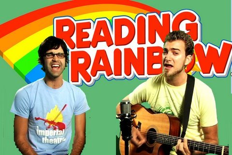 Reading Rainbow Theme Song (ode to LeVar Burton)