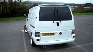 vw transporter t4 2.5TDi 102BHP ibis white www.totallyt4.co.uk