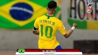 Brazil vs Belgium - FIFA World Cup Russia 6 July 2018 Gameplay