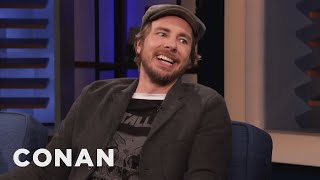 "Dax Shepard Is Worried About Dying On The Set Of ""Spin The Wheel"" - CONAN on TBS"