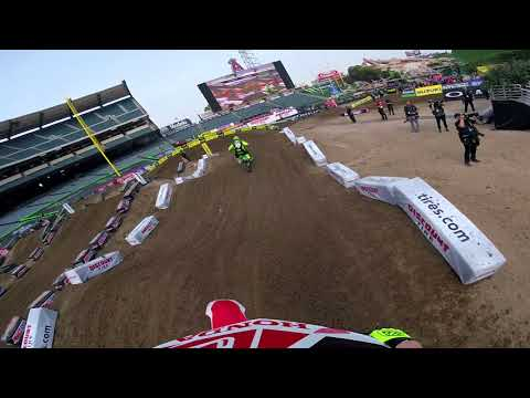 Supercross GoPro Course Preview Anaheim 1 2018