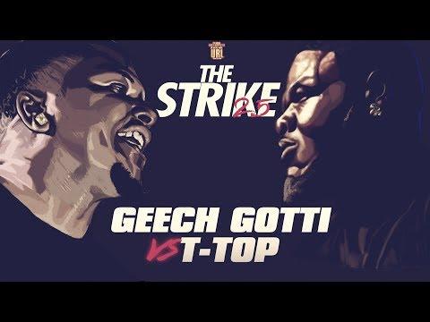 T-TOP VS GEECHI GOTTI SMACK RAP BATTLE   URLTV