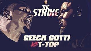 T-TOP VS GEECHI GOTTI SMACK RAP BATTLE | URLTV