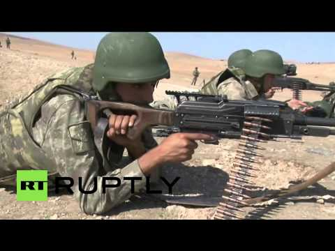 Turkey: Army Watch From Border As Kobane Continues To Fall To ISIS