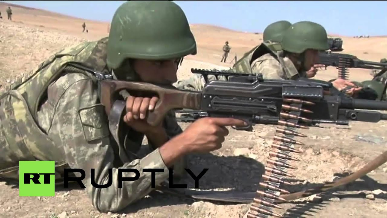 Turkey: Army watch from border as Kobane continues to fall ...