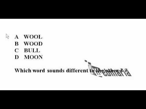 Pronunciation Quiz 4 - Pronunciation Test - ESL British English  Pronunciation