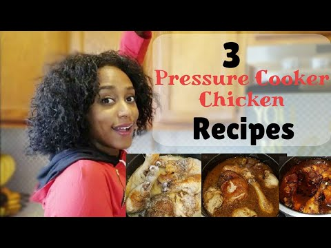 3 Easy (Instant Pot) Pressure Cooker Chicken Recipes / Come Cook with me / Fast Easy Chicken Recipes