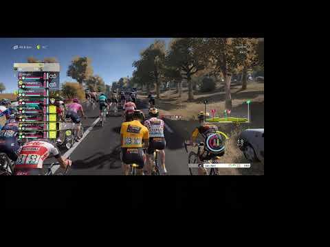TDF 2021 Game, Stage 12 of Tour De France as Jumbo Visma |