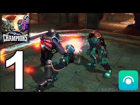 Real Steel Robot Boxing Champions - Gameplay Walkthrough Part 1 - Region 1 (iOS, Android)