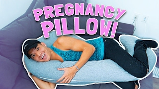 WE LOVE OUR PREGNANCY PILLOW!!