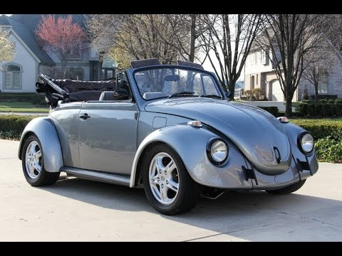 1970 volkswagen beetle convertible for sale youtube. Black Bedroom Furniture Sets. Home Design Ideas