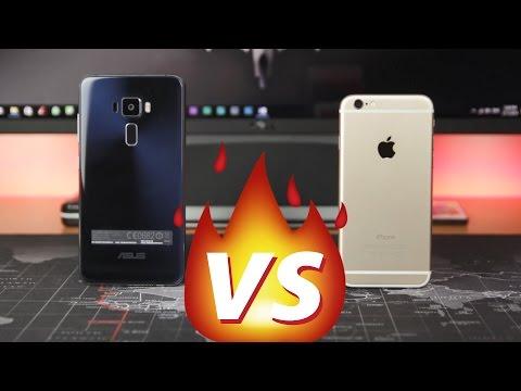 ASUS ZenFone 3 (ZE552KL) VS iPhone 6 - Camera Comparison