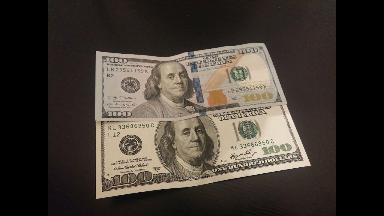 фото новая купюра 100 долларов