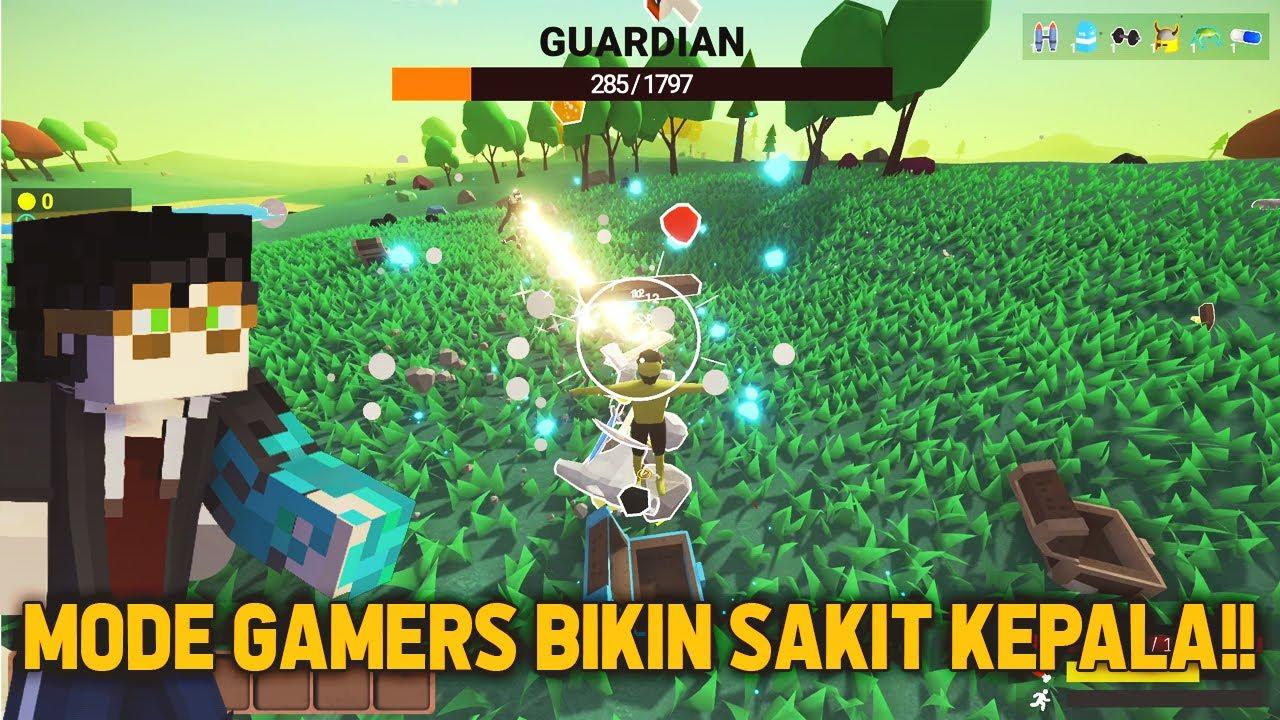 GAME MODE GAMERS, BOSSNYA OVERPOWER GAK NGOTAK DI MUCK  INI !!