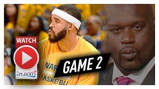 JaVale McGee Full Game 2 Highlights vs Trail Blazers 2017 Playoffs - 15 Pts, 5 Reb, 4 Blocks