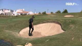 Golf Tips tv:  10 Yard bunker shot challenge