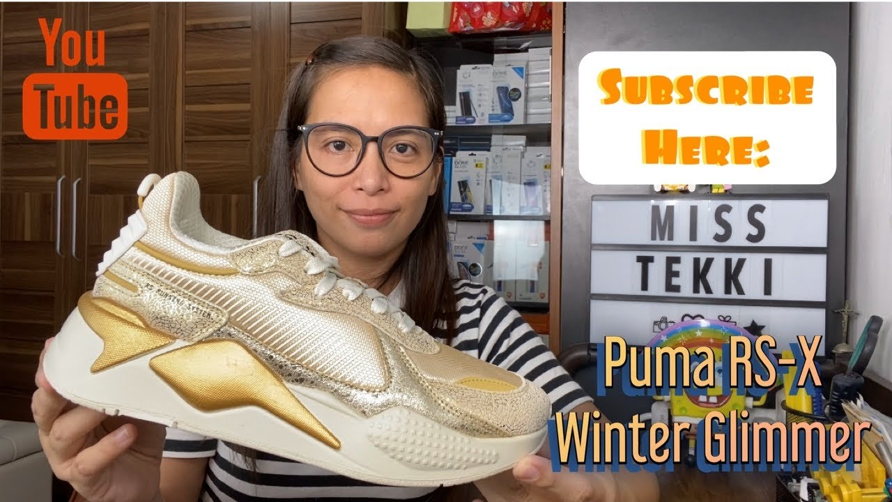 Puma RS X Winter Glimmer Unboxing (Miss Tekki Style)