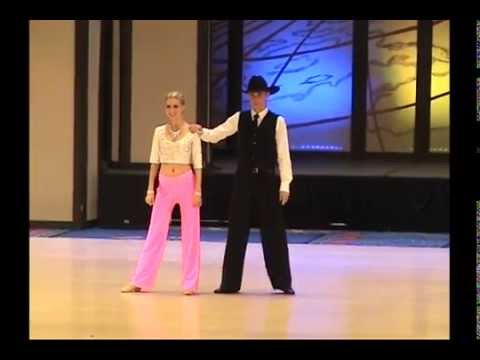 UCWDC Worlds 2015 - Pro-Am Novice Teen - West Coast Swing