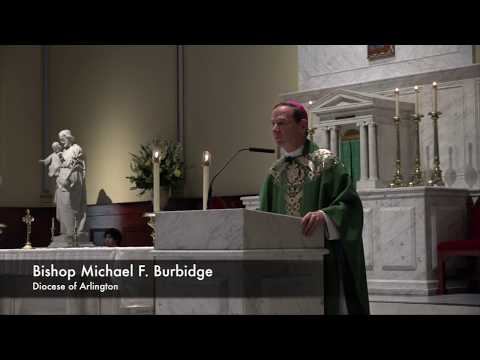 Bishop Burbidge's Homily on Dr. Martin Luther King Jr., Prejudice and More