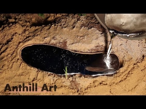 Thumbnail: Five Fire Ant Colony Casting Session Part 3: Casts 4 & 5