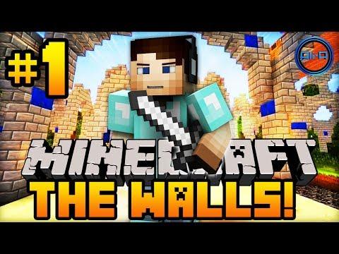 "Minecraft THE WALLS - w/ Ali-A #1 - ""EPIC BATTLE!"""