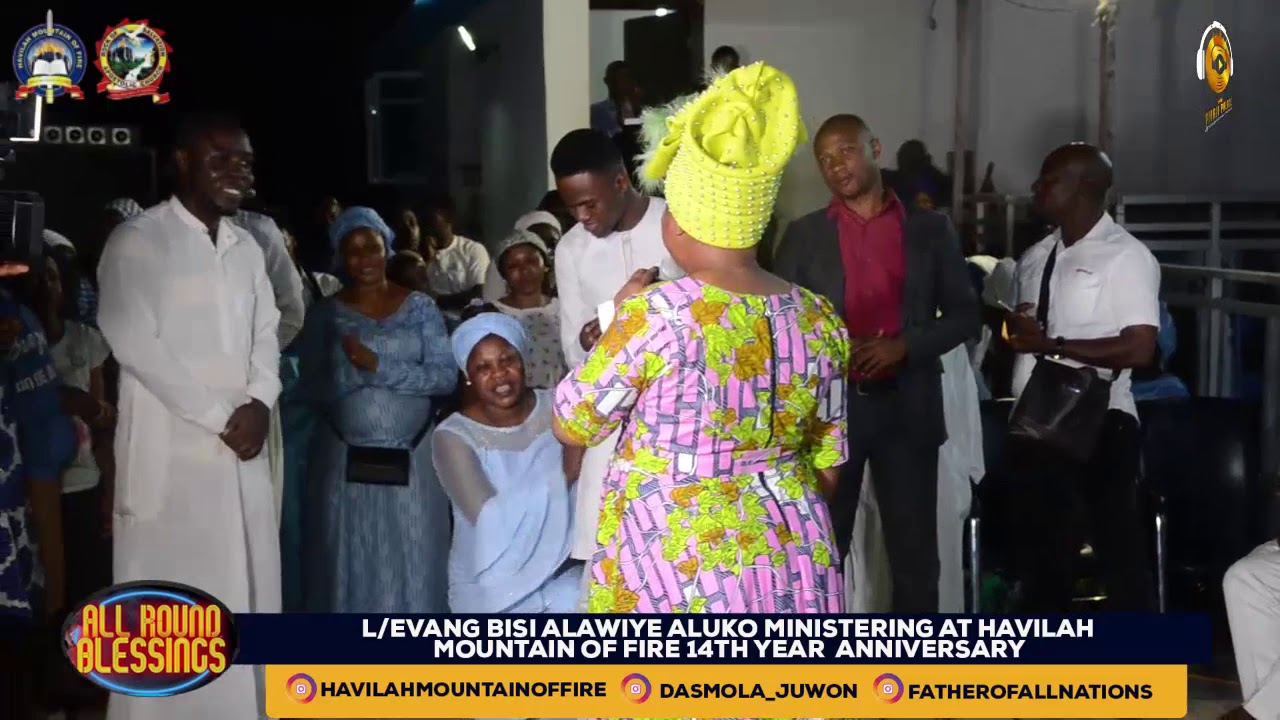 Download DR. EVAN BISI ALAWIYE ALUKO  LIVE AT HAVILAH MOUNTAIN OF FIRE WITH THE OLUBORI'S  (PART 1)