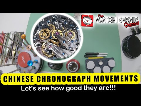 Is This Chinese Chronograph Watch Movement Any Good? Seagull ST1903 Stripdown & Inspection
