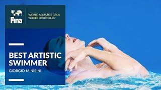Giorgio Minisini - Best Male Artistic Swimmer | FINA World Aquatics Gala 2018