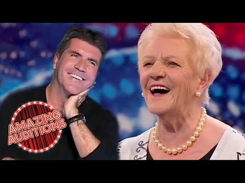 80 Year Old Singer STUNS Judges And The World On Britain's Got Talent | Amazing Auditons