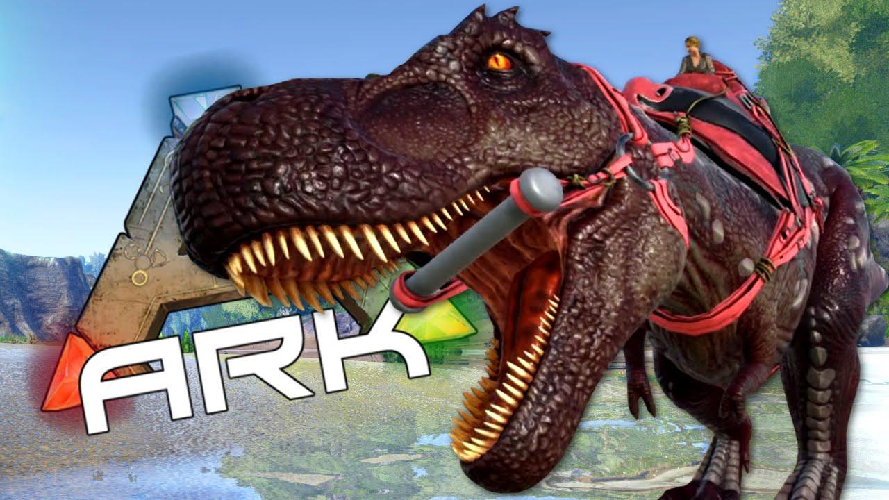 bd3b0ac50f BACK IN BLACK - A Look at the Power of a T-Rex - ARK: Survival Evolved #8 -  YouTube