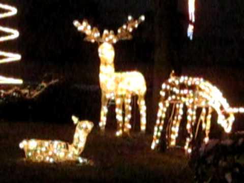 Christmas Hill in Ottenhofen - Weihnachtsbeleuchtung - YouTube