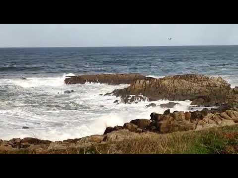 El mar azota las costas burelesas