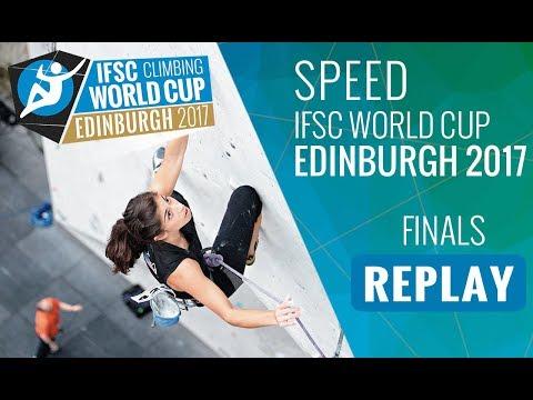 IFSC Climbing World Cup Edinburgh 2017 - Speed - Finals - Men/Women