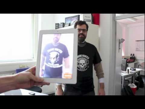 Augmented Reality T-Shirts by TexLab & Daubit