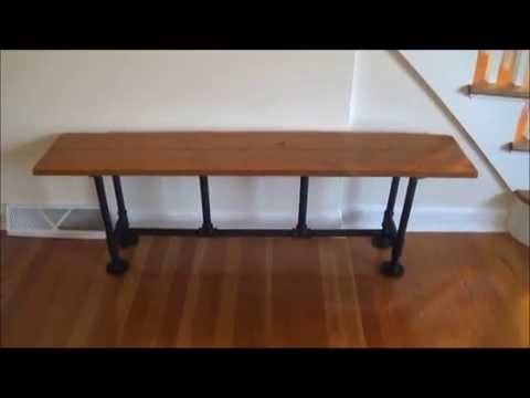Reclaimed Wood Bench - Trash turned into Furniture