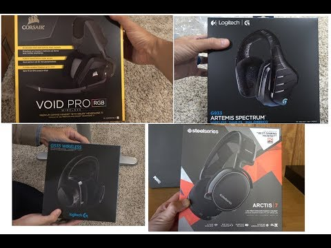 Wireless PC Gaming Headset Shootout - A hardcore Battlefield Gamer's review