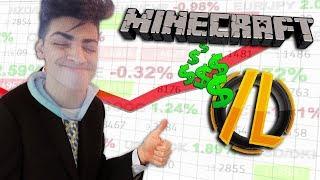 Minecraft Server Destruction - DUPING AND EXPLOITING A MONEY SHOP GLITCH