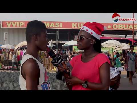 Merry Christmas : what is the meaning of Merry ? Street quiz