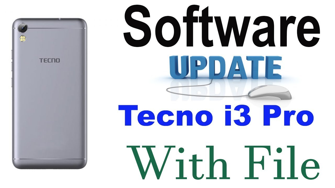 Tecno i3 Pro Software Update Error Fix With Tested File And Flashing