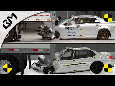 BeamNG Drive VS Real Life - CRASH TEST COMPARISON - Soft Body Physics