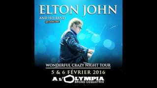 Elton John - Blue Wonderful - Live Paris Feb 2016 FM Radio Broadcast